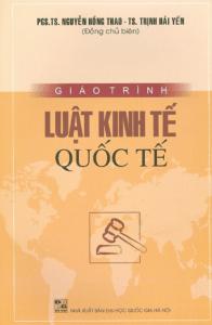 Giáo Trình Luật Kinh Tế Quốc Tế